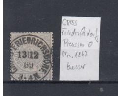 "NDP (XX) Michel Kat.Nr. Stempel Preussen ""Friedrichsdorf"" - Norddeutscher Postbezirk"