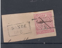 "NDP (XX) Michel Kat.Nr. Stempel Oldenburg ""Sande"" - North German Conf."