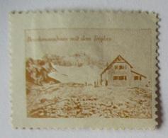 Österreich Slowenien,Berghütte Deschmannhaus Mit Triglav, Vignette (9291) - Austria