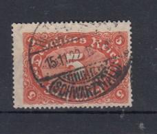 Reich (XX) Michel Kat.Nr.  Gest 174a Gepr - Alemania