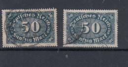 Reich (XX) Michel Kat.Nr.  Gest 246 A/b Gepr - Alemania