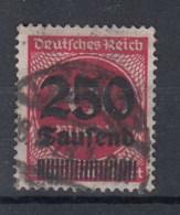 Reich (XX) Michel Kat.Nr.  Gest 292 Gepr - Alemania
