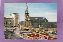 LUXEMBOURG Gare Centrale Et Batiment Du C.F.L. Automobiles Autocars - Lussemburgo - Città