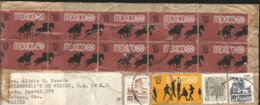 J) 1968 MEXICO, HORSE AND RIDE, BASEBALL, HIDALGO, COLONIAL ARCHITECTURE, PUEBLA, CATHEDRAL, MODERN ARCHITECTURE, DF, PA - Nicaragua