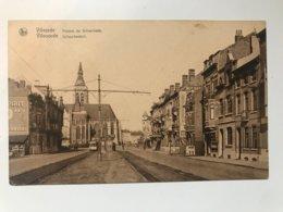 Carte Postale Ancienne (1931)  Vilvorde  Avenue De Schaerbeek - Vilvoorde  Schaarbeek - Vilvoorde