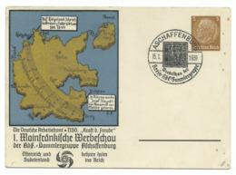 DR Privat-Ganzsache Mainfränkische Werbeschau 1939 Sonderstempel - Germany