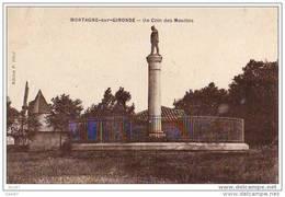 Dep 17  à MORTAGNE Sur GIRONDE  __ Un Coin Des Moulins A Vent - France