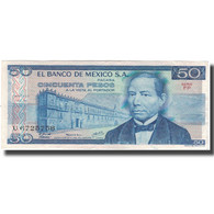 Billet, Mexique, 50 Pesos, 1978-07-05, KM:67a, TTB+ - Mexico
