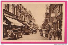 CPA (RÉF : VV906) BERK PLAGE (62 PAS-DE-CALAIS) Rue Carnot (animée, Magasins, Vieilles Voitures) - Berck