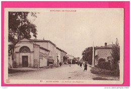 CPA (RÉF : Z36) Saint-Agne La Station De Tramway - Francia