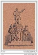 Cette Cpa Est En Liege _ref 988 ( Dép-81 à CARMAUX )  La Statue De Jean-Jaurès - Personaggi