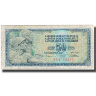 Billet, Yougoslavie, 50 Dinara, 1978-08-12, KM:89a, B - Yougoslavie