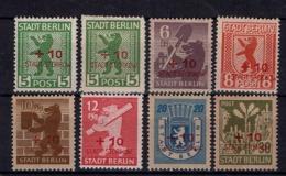 Allemagne - Stadt Storkow - Locaux N° 1-8 - Neufs - X - Traces Légères De Charnières - TB - - Soviet Zone