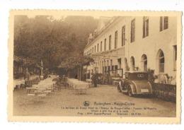 """Auderghem  ( M 2684 )  """"  Rouge - Cloître  """"   Voiture Ancêtre Devant Le Terrasse  De L'Hotel - Auderghem - Oudergem"""
