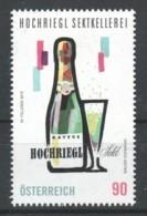 """Österreich 2019:  """"Hochriegl Sektkellerei"""" Postfrisch (s.Foto) - 1945-.... 2nd Republic"""