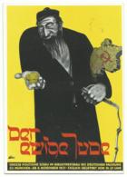 DR Privat-Ganzsache Der Ewige Jude 1937 Ungelaufen - Alemania