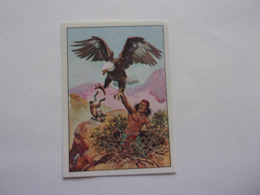 PANINI WEST Cow Boy Indien Cavalerie N°126 Aigle Eagle Aguila Adler - Edition Française