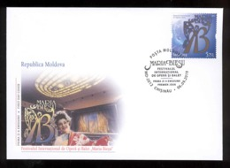"Moldova 2019 The International Opera And Ballet Festival ""Maria Bieshu"" FDC - Moldawien (Moldau)"