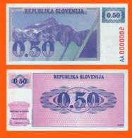 Slovenia 0,5 Tolar 1991 - Eslovenia