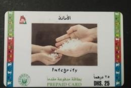 UAE Telephone Card Shell - United Arab Emirates