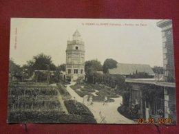 CPA - Saint-Pierre-sur-Dives - Pavillon Des Fleurs - France