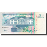 Billet, Surinam, 5 Gulden, 1998-02-10, KM:136b, NEUF - Surinam
