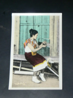 LAOS 1950  / INDOCHINE TONKIN / XIENG  KHOUANG  /  PHOSAVAN  /  TRICOTAGE  / EDITION - Laos