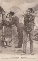 Auvergne : Humoristique : Hommes Et Femme - Auvergne