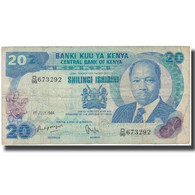 Billet, Kenya, 20 Shillings, 1984-07-01, KM:21c, TB - Kenia