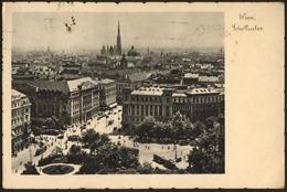 AUSTRIA Real Photo Postcard VIENNA WIEN SCHOTTENTOR Posted 1939 To Romania - Vienna Center
