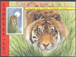 Tokelau 1998 Yvertn° Bloc 19  *** MNH Cote 5,00 Euro Faune Tigre Tiger Tijger - Tokelau