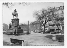 59  LILLE    PLACE  RICHEBE  STATUE  FAIDHERBE  BON ETAT 2 SCANS - Lille