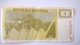 Slovenia-Slovenija 1 Tolar 1990, P-1a - Eslovenia