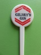 250 - Touilleur - Agitateur - Mélangeur à Boisson - Alcool - Gilbey's Gin - Swizzle Sticks