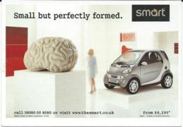 Advertising - Smart - Car - Werbepostkarten