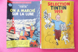 SELECTION  TINTIN  1955  (193 Pages) **** BHR 028X   (RARE) - Books, Magazines, Comics