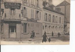 CHARTRES   Rue Mathurin Regnier  Hotel De La Herse D'or - Chartres