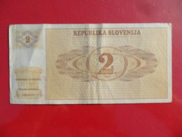 Slovenia-Slovenija 2 Tolarja 1990, P-2a - Eslovenia