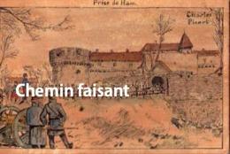 Chromo EUGÈNE DOUBLET Cafés Rhums Thés, Le Havre 76 - Prise De HAM (militaires) - Scans Recto-verso - Tea & Coffee Manufacturers