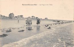 BARNEVILLE SUR MER - La Plage Et Les Villas - Barneville