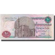 Billet, Égypte, 10 Pounds, KM:64a, TTB - Egypte