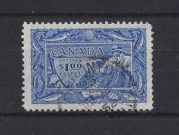 CANADA....KING GEORGE VI.(1936-52)...$1.....SG433....(CAT £6.)....VFU.. - Used Stamps