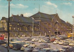 GERMANY - Bielefeld 1970's - Hauptbahnhof - Automotive - Bielefeld