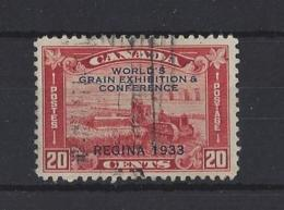"CANADA.....KING GEORGE V.(1910-36)...."" WORLD EXPO..""...20c.....SG330....(CAT £14.).....USED.. - 1911-1935 Règne De George V"