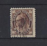 CANADA...QUEEN VICTORIA.(1837-01)...6c.....SG147.....(CAT £35.)...VFU.. - Used Stamps