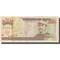 Billet, Dominican Republic, 20 Pesos Oro, 2001, KM:169a, TB - Dominicana