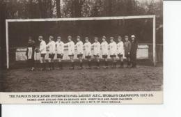 THE FAMOUS DICK KERR INTERNATIONAL LADIES AFC WOORLD'S  CHAMPIONS 1917  25 - Autres