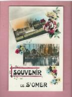 Carte -  Souvenir De St Omer  (2 Vues ) - Saint Omer