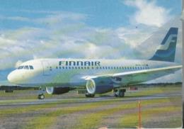 Finnair Airlines A319 OH-LVC Aereo Airways Airplane Finlandia ISSUE - 1946-....: Era Moderna
