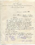 Lettre 1929 / 88 MIRECOURT / LA TEXTILE / Coopérative De Consommation - France